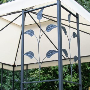 Detail von Metall Pavillon