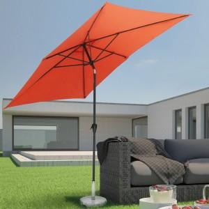 Miadomodo Sonnenschirm rechteckig Terrasse